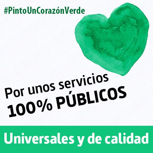 #PintoUnCorazónVerde